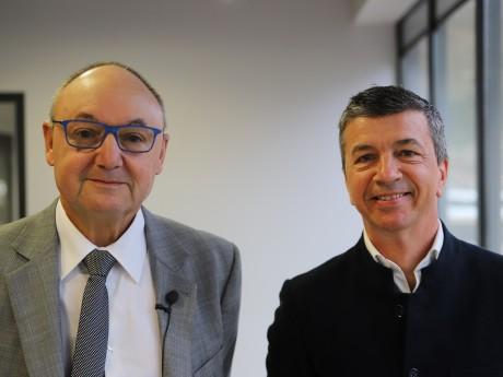 Gérard Angel et Renaud Franchet - LyonMag