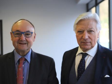 Gérard Angel et Marc Fraysse - LyonMag