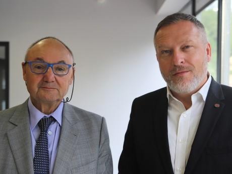 Gérard Angel et François Gaillard - LyonMag