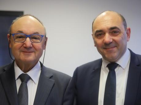 Gérard Angel et Gilles Gascon - LyonMag