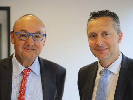 Gérard Angel et Renaud George - LyonMag