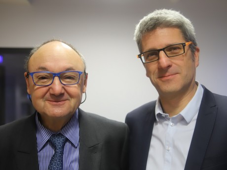 Gérard Angel et Christophe Geourjon - LyonMag