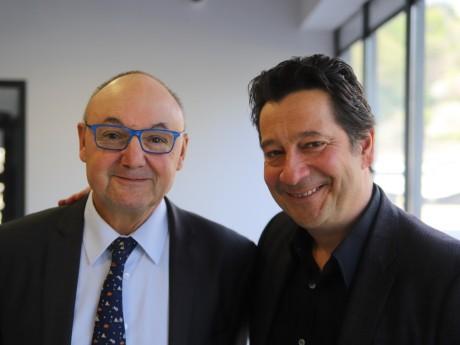 Gérard Angel et Laurent Gerra - LyonMag