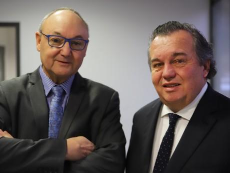 Gérard Angel et Olivier Ginon - LyonMag