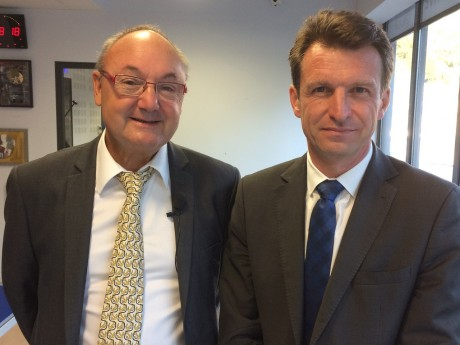 Gérard Angel et Stéphane Guilland - LyonMag