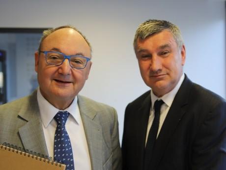 Gérard Angel et Christophe Guilloteau - LyonMag
