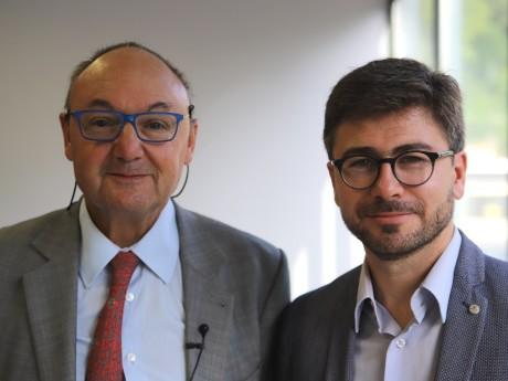 Gérard Angel et Thomas Allary - LyonMag