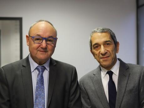 Gérard Angel et Farid Hamel - LyonMag
