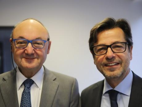 Gérard Angel et Emmanuel Hamelin - LyonMag