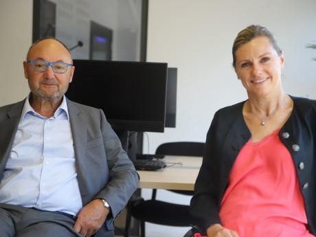 Gérard Angel et Audrey Hénocque - LyonMag