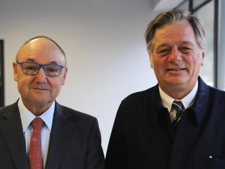 Gérard Angel et Cyrille Isaac-Sibille - LyonMag