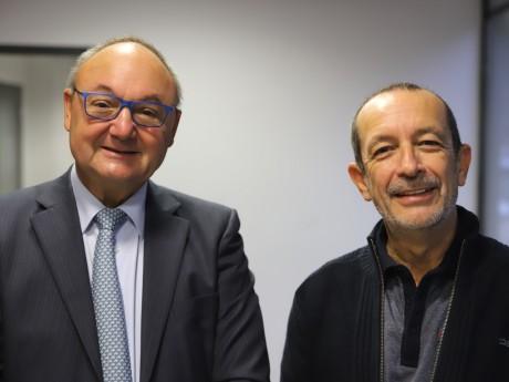 Gérard Angel et Jean-Charles Kohlhaas - LyonMag