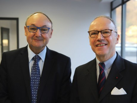 Gérard Angel et Pascal Mailhos - LyonMag