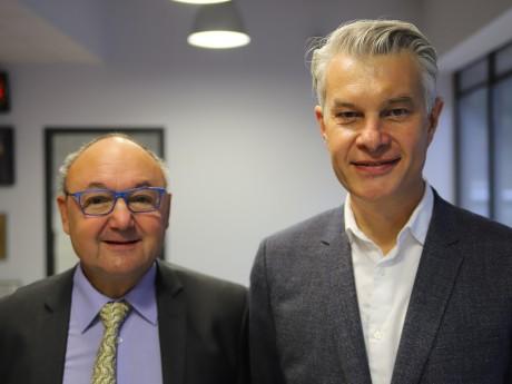 Gérard Angel et Jérôme Maleski - LyonMag
