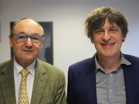 Gérard Angel et Romain Meltz - LyonMag