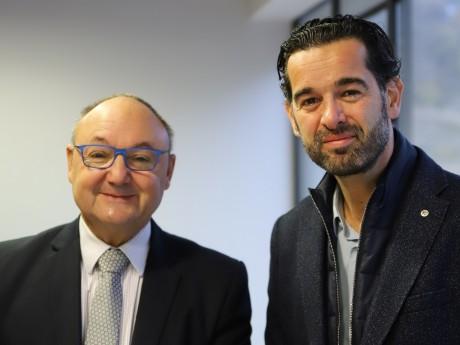 Gérard Angel et Samuel Minot - LyonMag