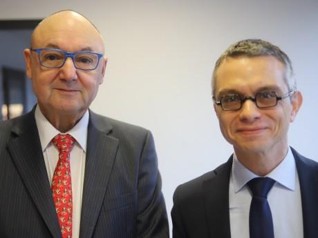 Gérard Angel et Renaud Payre - LyonMag