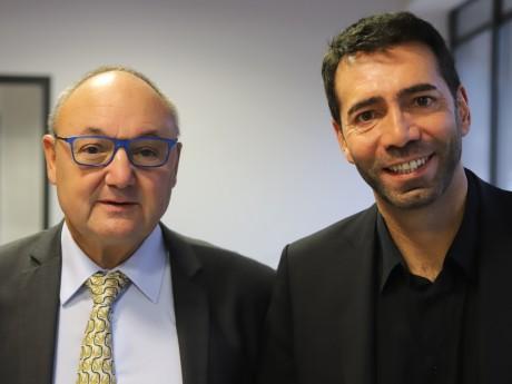 Gérard Angel et Louis Pelaez - LyonMag