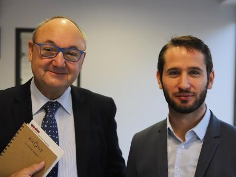 Gérard Angel et François-Xavier Pénicaud - LyonMag