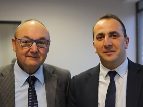 Gérard Angel et Renaud Pfeffer - LyonMag