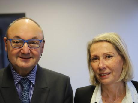 Gérard Angel et Myriam Picot - LyonMag