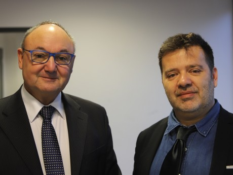 Gérard Angel et Julien Poncet - LyonMag