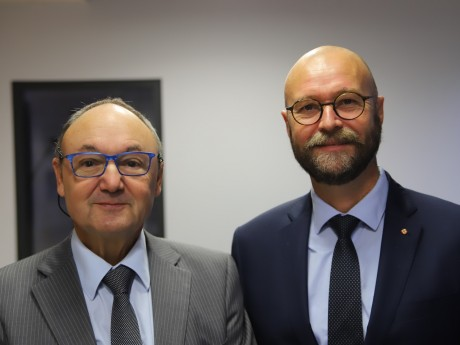 Gérard Angel et Christophe Quiniou - LyonMag
