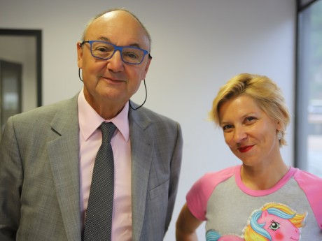Gérard Angel et Marie Rigaud - LyonMag