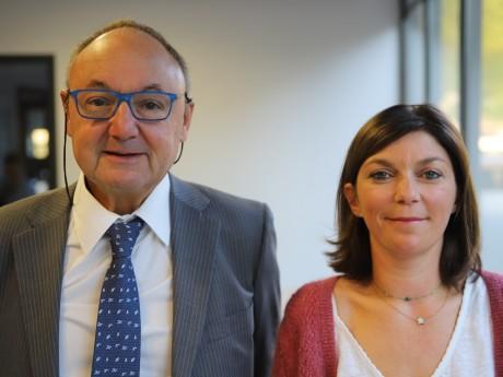 Gérard Angel et Marie Rouchouse - LyonMag