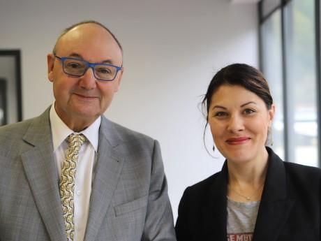 Gérard Angel et Audrey Sauvajon - LyonMag