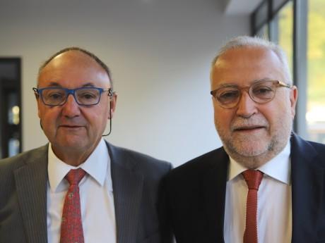 Gérard Angel et Jean-Yves Sécheresse - LyonMag