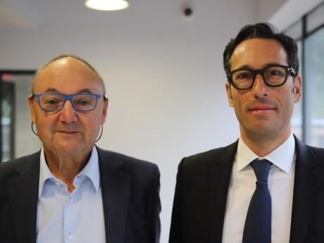 Gérard Angel et Emmanuel Squinabol - LyonMag