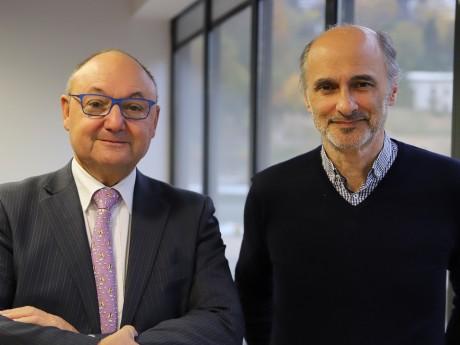 Gérard Angel et Etienne Tête - LyonMag
