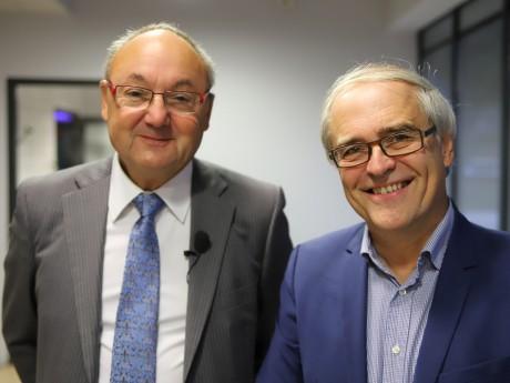 Gérard Angel et Gilles Thevenon - LyonMag