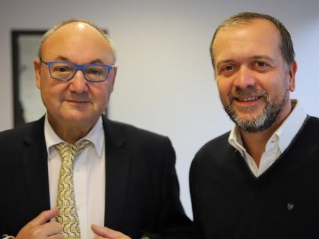 Gérard Angel et Jérémy Thien - LyonMag