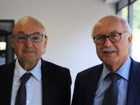 Gérard Angel et Jean-Louis Touraine - LyonMag