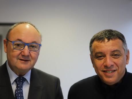 Gérard Angel et Mohamed Tria - LyonMag