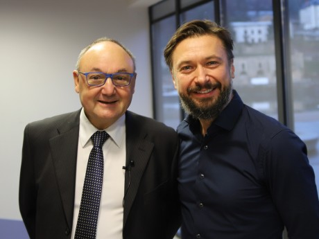Gérard Angel et Pavel Trush - LyonMag