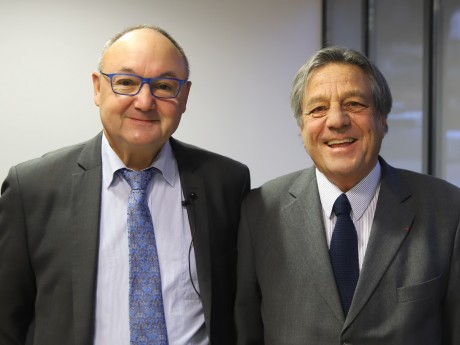 Gérard Angel et François Turcas - LyonMag