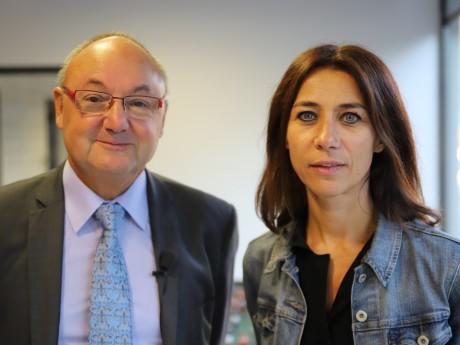 Gérard Angel et Octavie Vericel - LyonMag