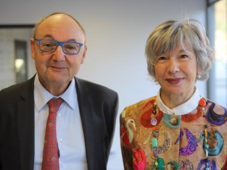 Gérard Angel et Florence Verney-Carron - LyonMag
