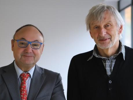 Gérard Angel et Jean-François Zurawik - LyonMag