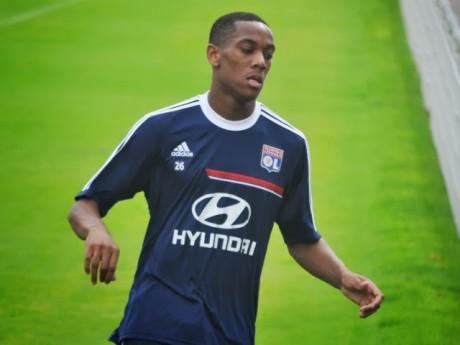 Anthony Martial sous les couleurs de Lyon - LyonMag.com