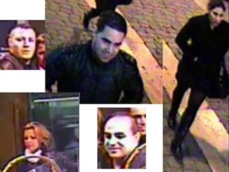 Les images de vidéosurveillance communiquées par la police en janvier 2011 - Photo DR
