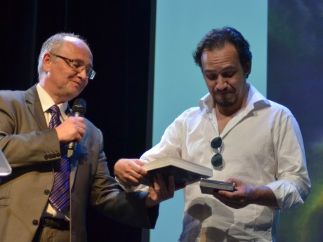 Alexandre Astier reçoit son prix - LyonMag