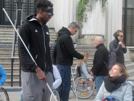 Les joueurs de l'ASVEL en situation de handicap ce vendredi - LyonMag.com