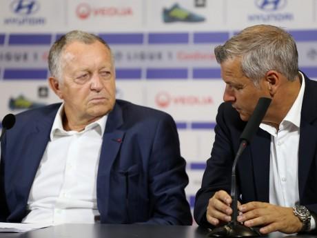 Jean-Michel Aulas et Bruno Génésio - LyonMag