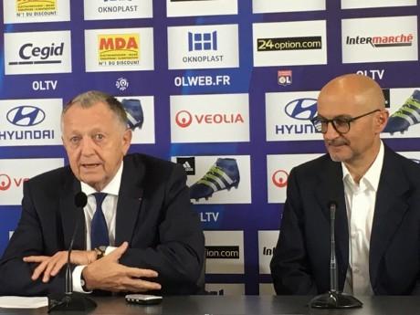 Jean-Michel Aulas et Antonio Pintus - LyonMag