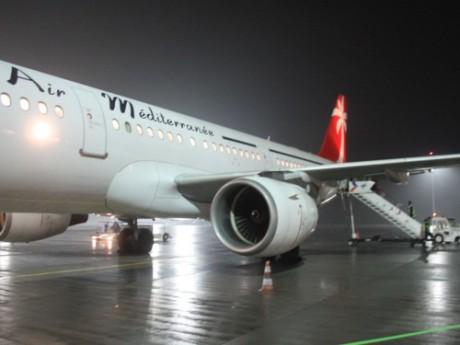 Air Méditerranée est déjà présent sur la plateforme lyonnaise - Photo LyonMag