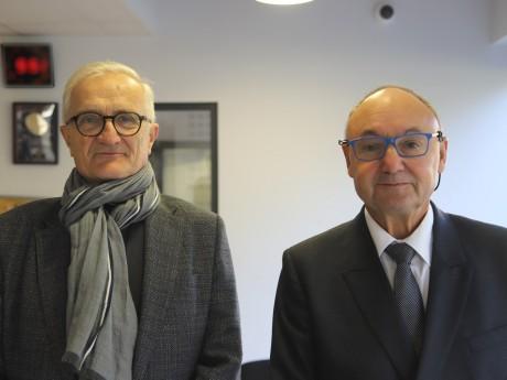 Paul Bacot et Gérard Angel - LyonMag